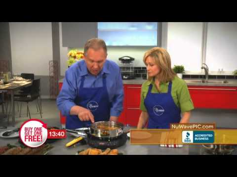The NuWave PIC  Precision Induction Cooktop Infomercial