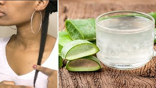 Faster Thicker HAIR GROWTH With Aloe Vera | Restore Damage (2018)