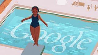 London 2012: Diving  Google Doodle