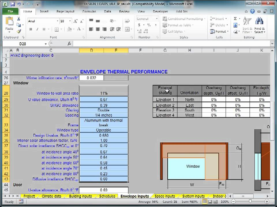 Hvac Systems Design Tutorial How To Calculate Hvac Design Loads Youtube