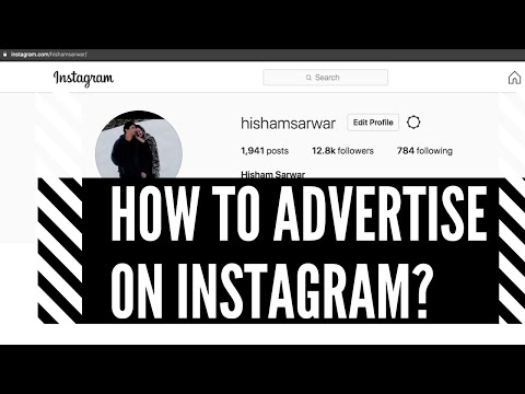 How to advertise on Instagram? | social media marketing by a