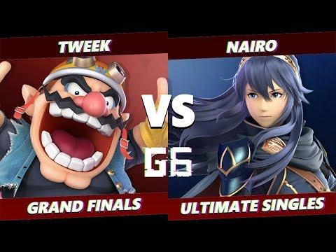 Glitch 6 SSBU - Tweek (Wario) VS NRG | Nairo (Lucina) Smash Ultimate Grand Finals