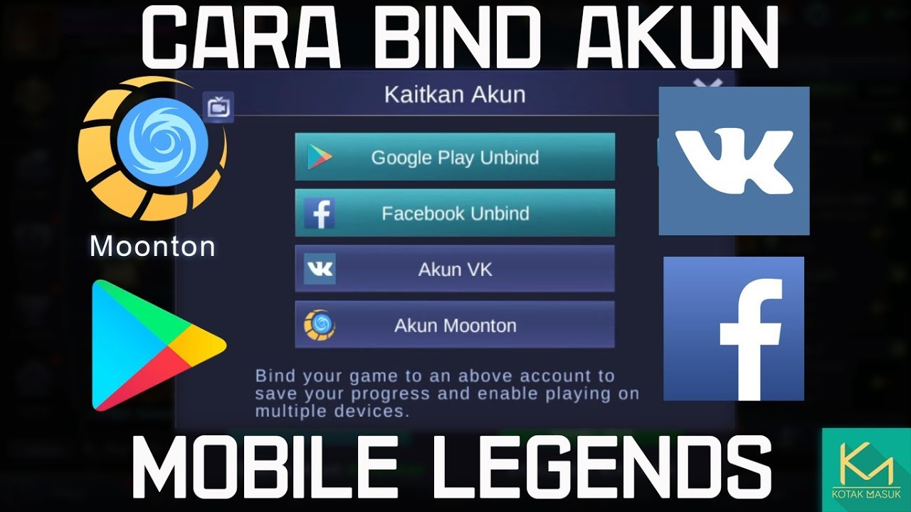 How to Bind / Unbind Account | Mobile Legends Tutorial