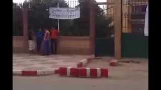 """إحتجاجات سكان بلدية حمادية بتيارت """" الاتحاد الوطني للشبيبة الجزائرية"""""""