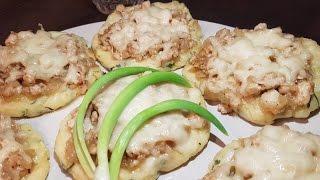 Картофельные ватрушки с курицей!!!