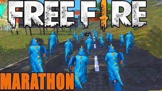 Marathon in Free fire|| Fun match in free fire || Run Gaming tamil