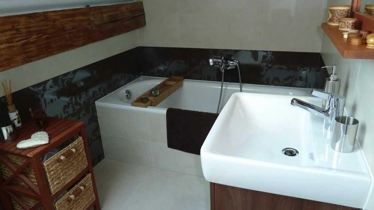 Une salle de bains dans les combles youtube - Salle d eau dans les combles ...