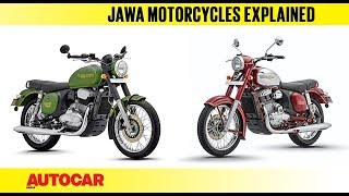 Jawa Motorcycles Explained - What You Can Expect | Feature | Autocar India