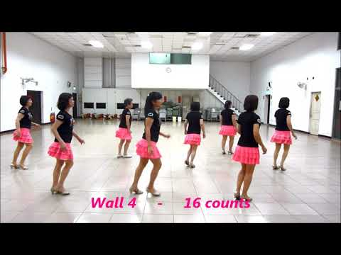 That Girl 那個女孩 - Line Dance (by Ivy Tang, Stephanie Lim Kickick NDNL)