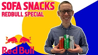 Red Bull Special - Trying the New Summer Editions - Sofa Snacks
