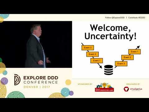 Vaughn Vernon  Reactive DDD: Modeling Uncertainty