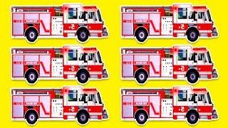 Camion POMPIERI bambini. Cartoni animati completi 20 MIN. Pompiere Sam italiano. Bambini pompieri.