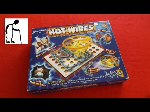 Charity Shop gold or garbage #6 - Hot Wires electrical construction kit