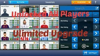 Dream League Soocer 2017 V 4.04 Modded APK - Unlocked All Players+ Unlimited Upgrade And Coins
