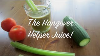 How to Prevent a Hangover & a Healthy Hangover Helper Juice Recipe!