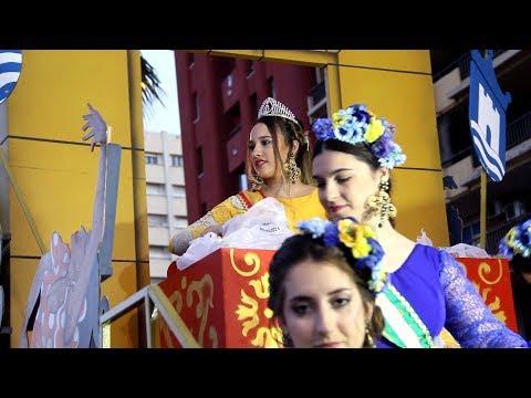 La Cabalgata de la Feria Real de Algeciras 2019 reune a decena de miles de algecireños