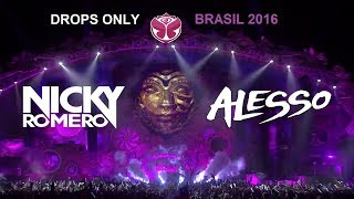 [Drops Only] Nicky Romero (First 30 min) & Alesso (Last 30 min) - Tomorrowland Brasil 2016