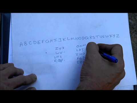Learn To Say The Alphabet Backwards