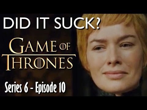 DID IT SUCK - Game Of Thrones Season 6 | 'The Winds of Winter' Review