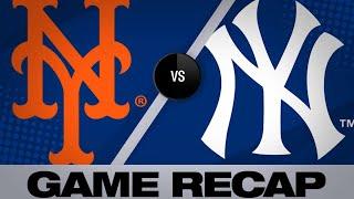 6/11/19: Mets smash 3 homers in 10-4 win versus Yanks