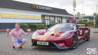 MCDONALD'S DRIVE THRU with My FORD GT!