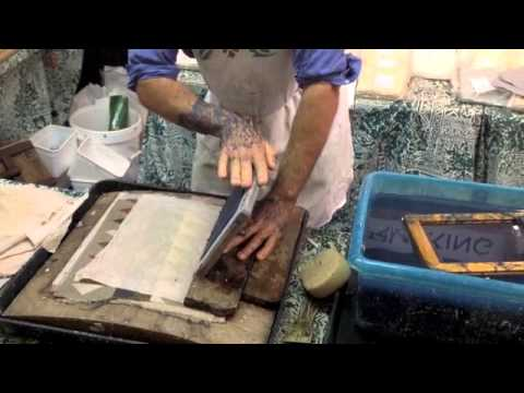 How To Make Paper Using Your Old Jeans - Paper Making - Colouricious
