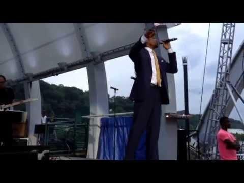 Landau Eugene Murphy Jr. - Come Fly With Me by Frank Sinatra - Charleston, West Virginia 7/3/15