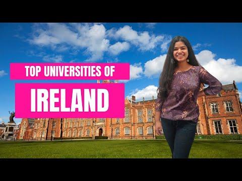 Top universities In Ireland 2021   Study in Ireland     Study Abroad