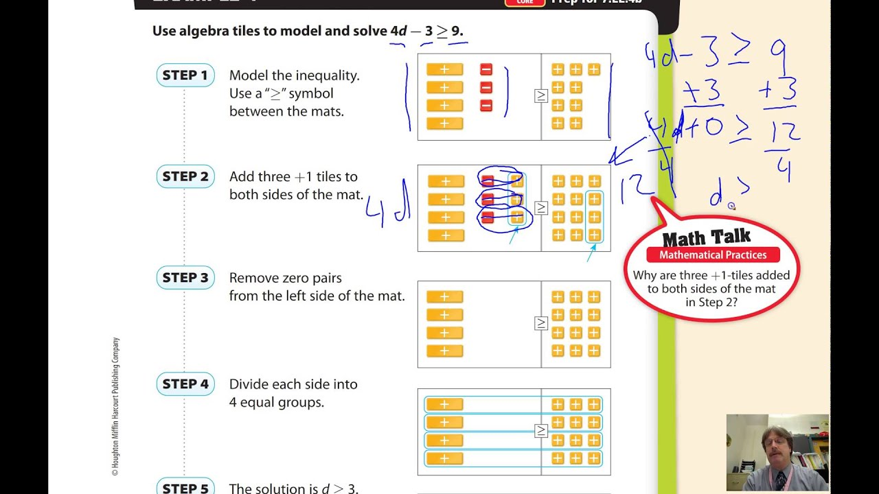 Lesson 7 3 Solving Two Step Inequalities