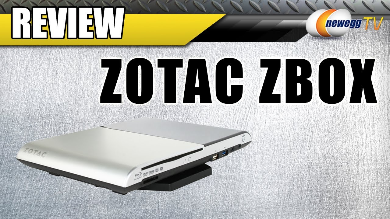 Newegg TV: Zotac Zbox Blu-Ray Review