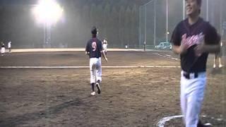 『2010/8/13第1回上郡中学校野球部との交流戦2010/8/13inBG』