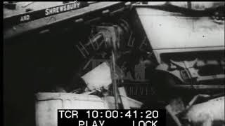Abermule Rail Crash, 1921 - Film 15929