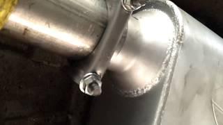 1997 Chevy Blazer Thrush Welded Muffler upgrade