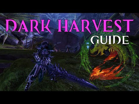 [GUILD WARS 2] Dark Harvest Ascended Greatsword Guide