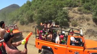 Jeep Safari Marmaris Turkey 2017 GoPro