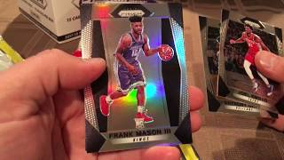 2017 Panini Prizm Basketball Cello Box Break 2