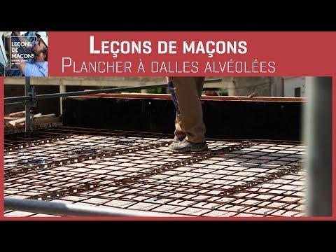 Les Leçons - Plancher à dalles alvéolées
