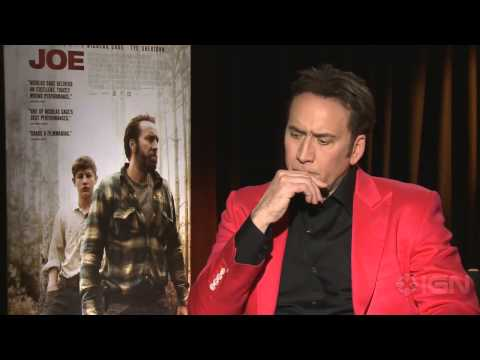 """Joe - Nicolas Cage on Popcorn Movies Vs. """"Naked"""" Acting"""