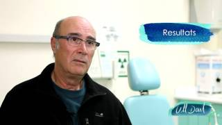 Fundas de porcelana y prótesis dental en Badalona. Testimonio. Clínica Dental Ull Dent