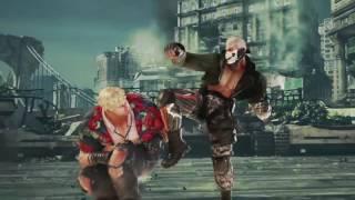 Tekken 7 — трейлер персонажей, часть 1