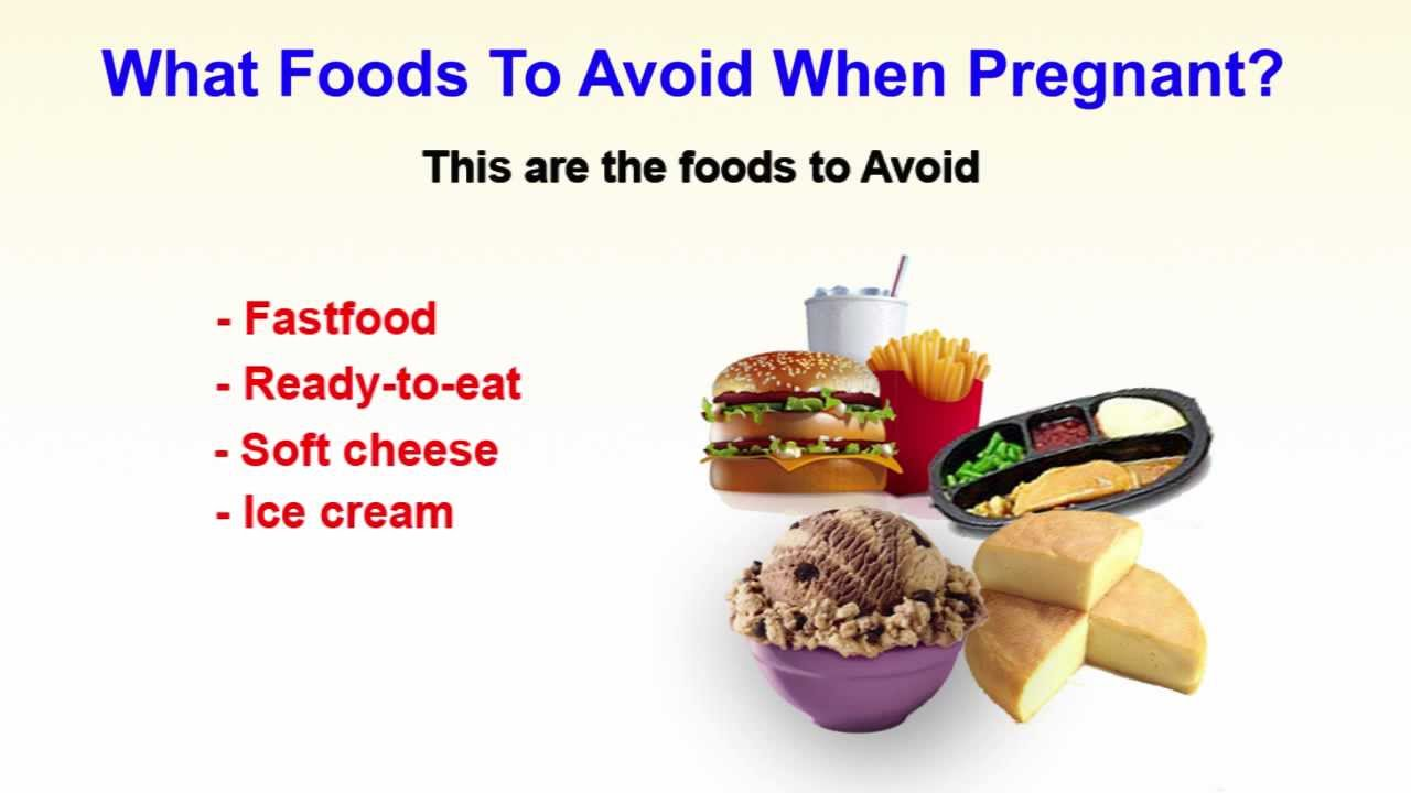 Pregnant Foods To Avoid