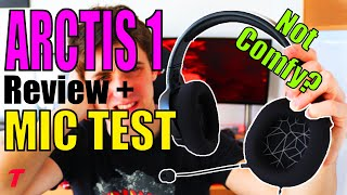 SteelSeries Arctis 1 Headset Review and Microphone (Mic) Test - NOT Comfy?! (2020)