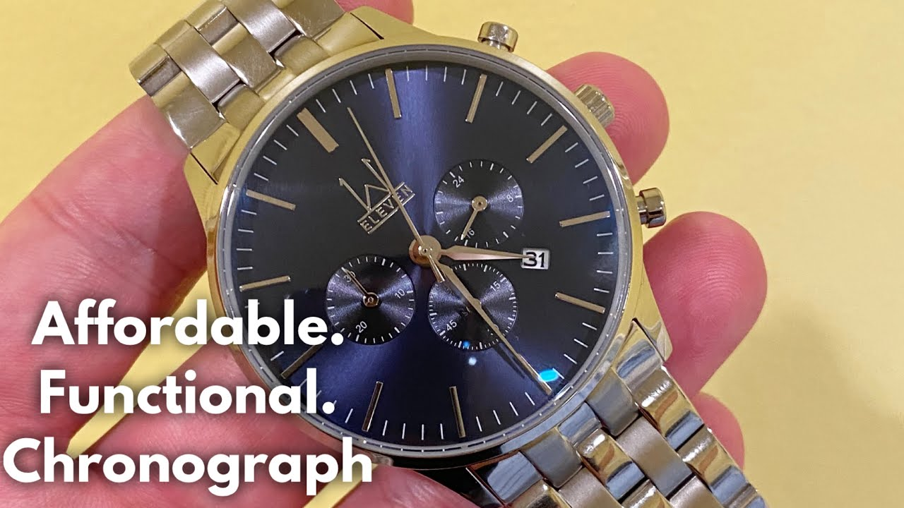 WATCHES Eleven Prestige Chronograph Watch Review