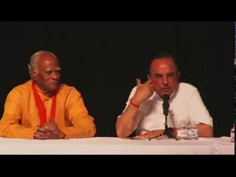 Dr. Subramanian Swamy speaking about Restoration of Hindu Temple in Dallas