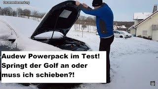 Audew 1500A 20000mAh Auto-Starthilfe und Powerbank im Test - Was kann das Kraftpaket? 🤔
