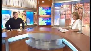 "Костя Цзю на Первом Канале в программе ""Доброе Утро"""
