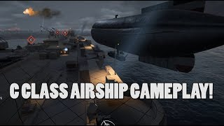 C CLASS AIRSHIP GAMEPLAY - Battlefield 1 Turning Tides