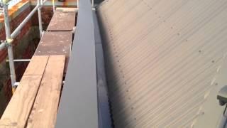 Roof repairs: BuildSmart internal gutter & parapet replacement