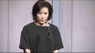 高畑淳子(61)が26日、息子で俳優の高畑裕太容疑者の記者会見.