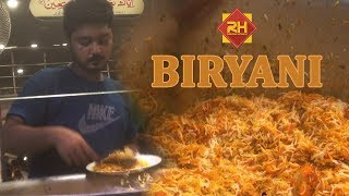hyderabadi biryani street food